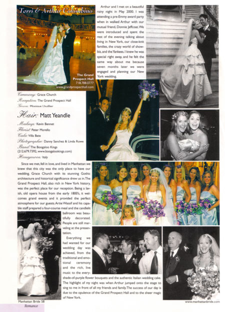 Matt S Published Bridal Work