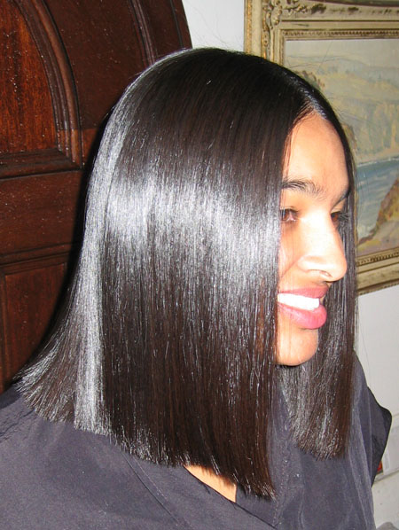 Japanese Hair Straightening Pic Heavy Black Hair Media
