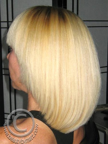Japanese Hair Straightening Thermal Reconditioning By Matt
